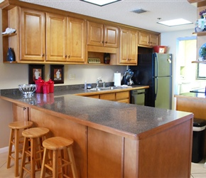 Kitchen - Island with Stools