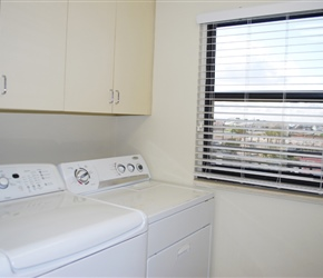 Laundry Room - Full Size Washer & Dryer